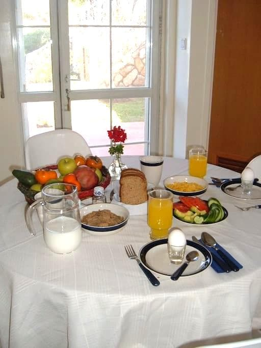 Efrat Bed and Breakfast, comfortable and cozy - Efrat - B&B/民宿/ペンション