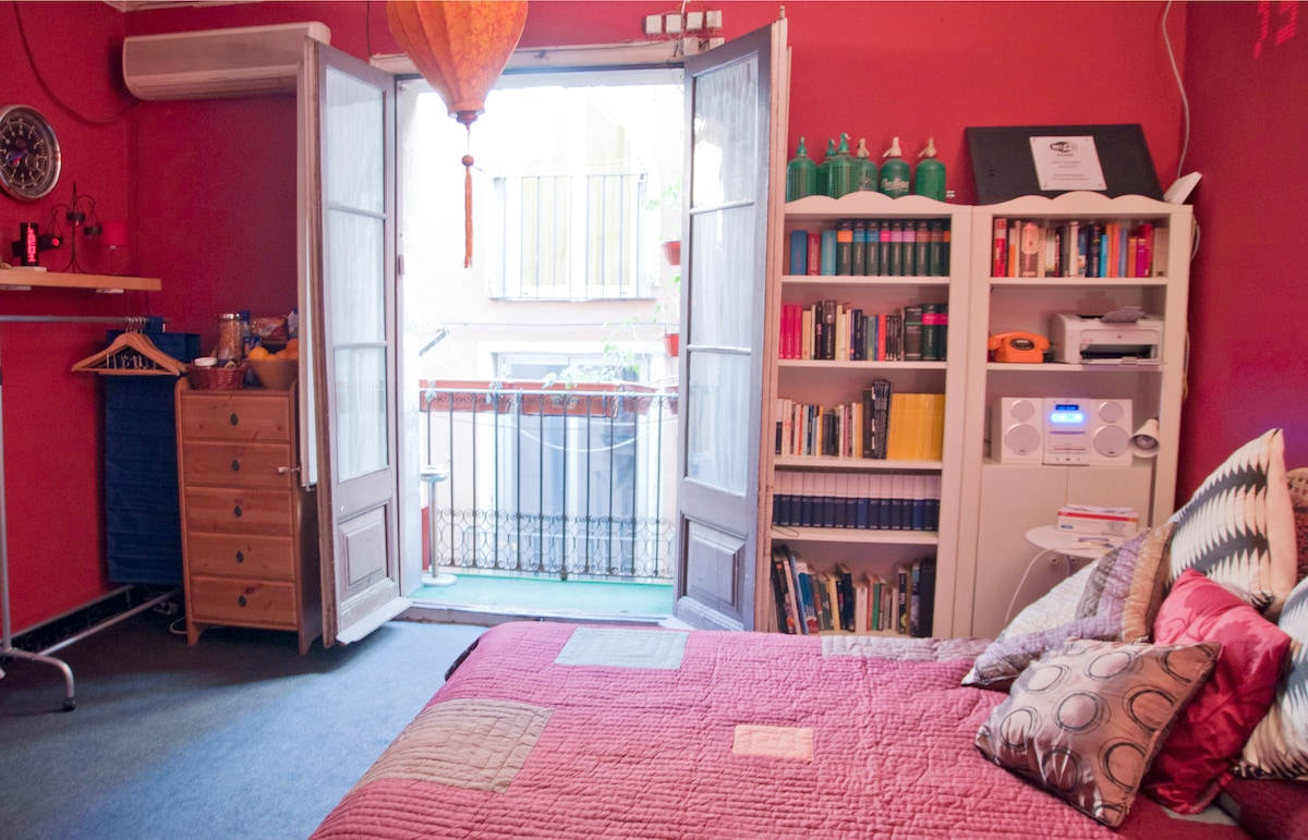 PICASSO MUSEUM double room, Wifi,AC