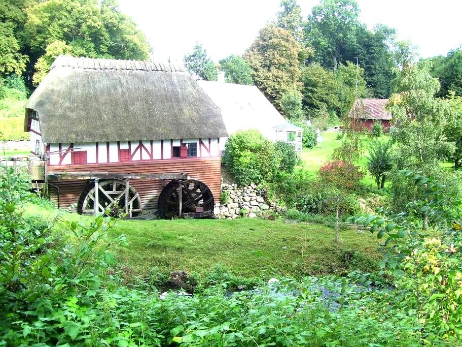 Old watermill by beautiful lake - Svendborg Municipality - Cabanya