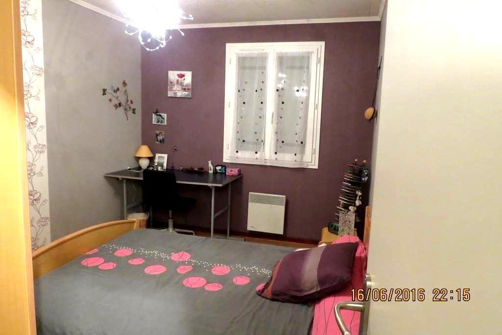 jolie chambre dans maison chaleureuse - Cognac - Casa