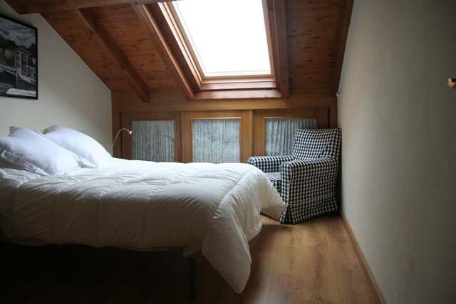 Dormitorio principal. Silencioso y muy privado.