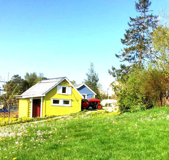 KreaTun -Cabins close to the sea - Stord - Hytte