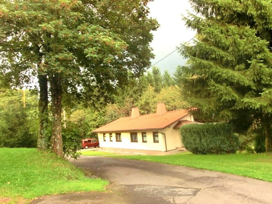 Doppelhaus direkt im Thüringer Wald - Masserberg