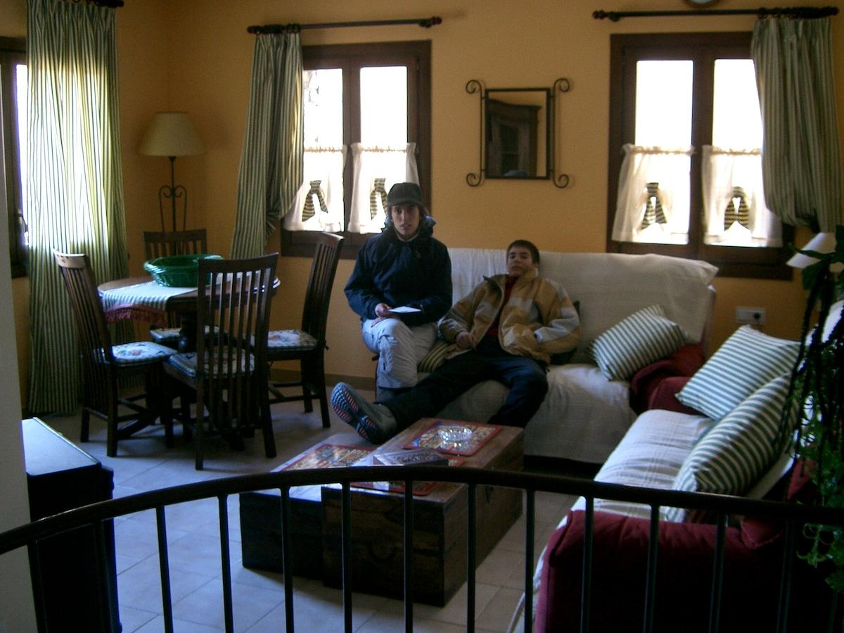 Cozy duplex apartment in Encamp