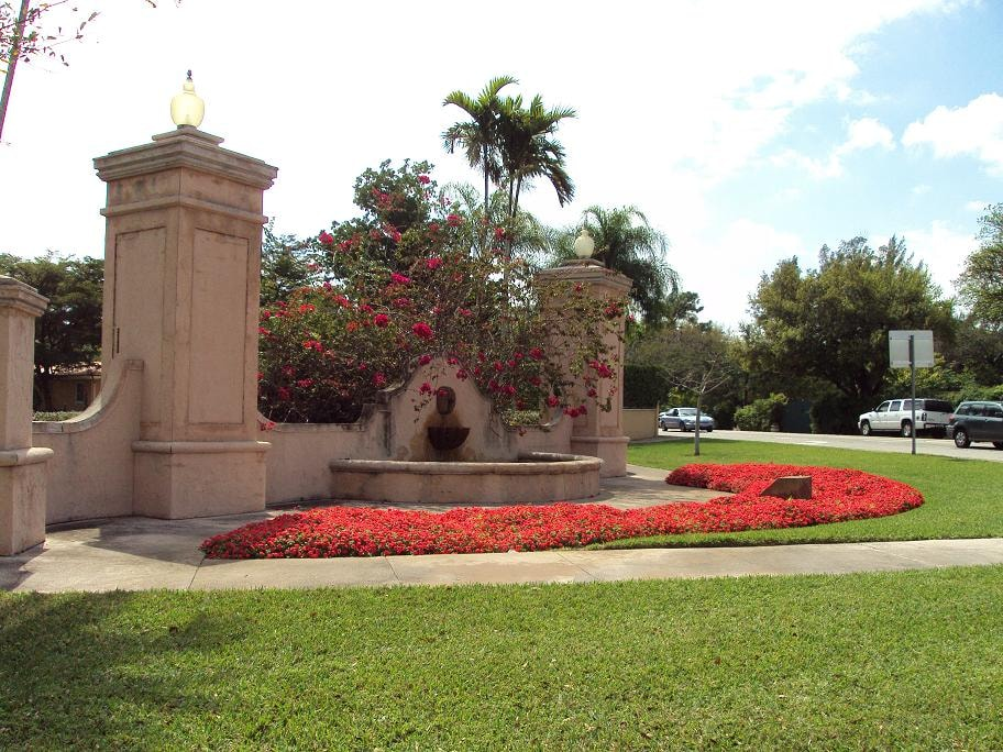 The Neighborhood: Coral Gables Entrance