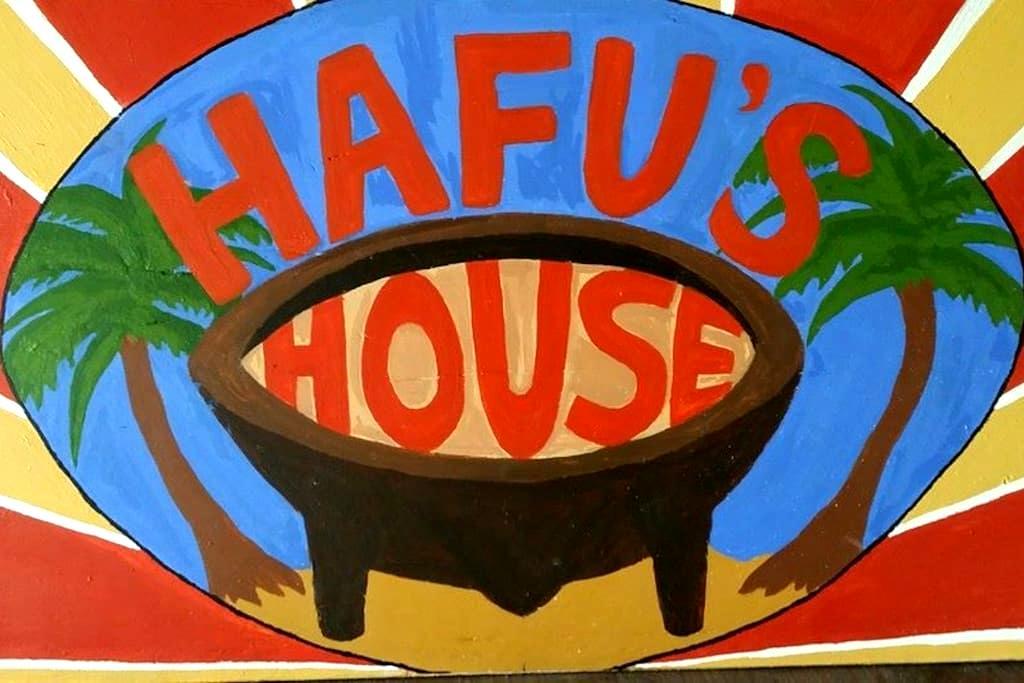 Double room - Hafu's House backpackers - Nuku'alofa