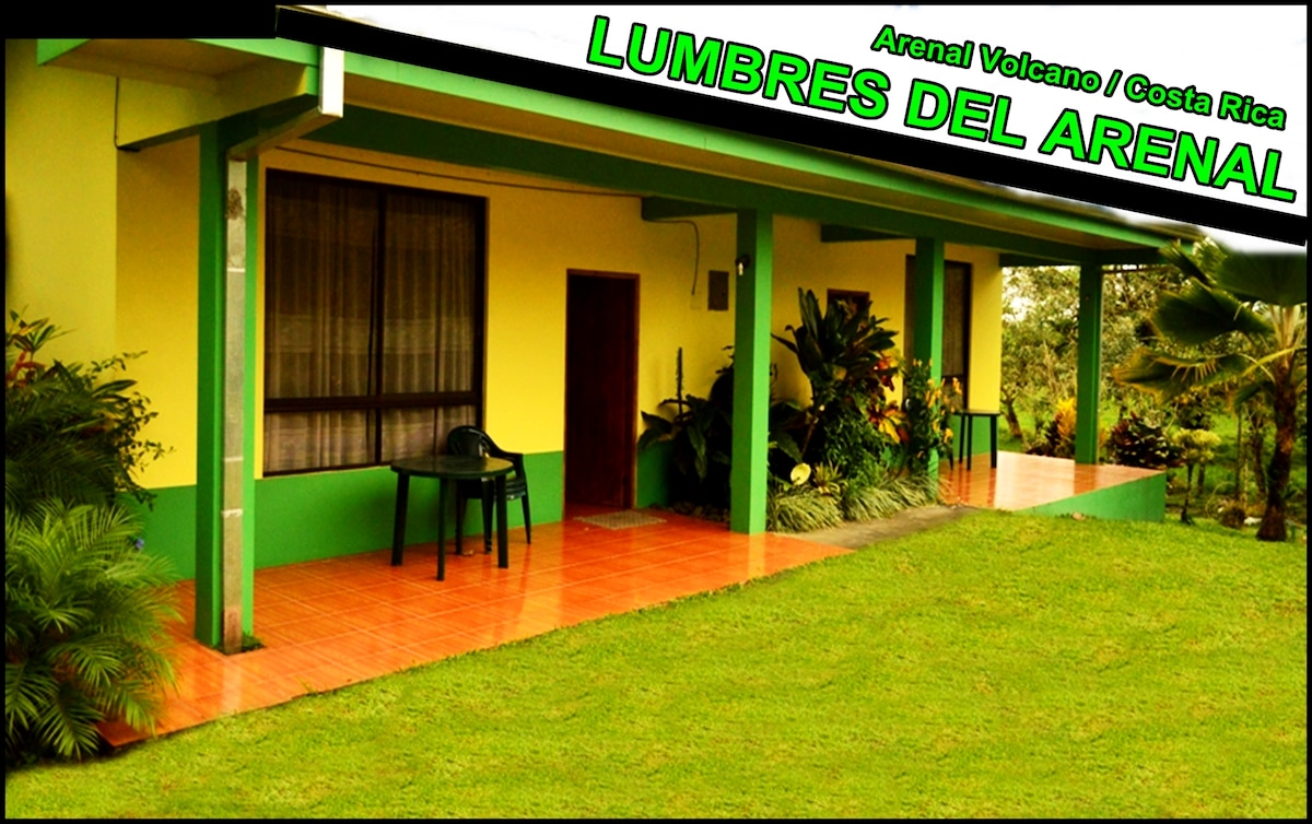 Lumbres del Arenal / Private rooms