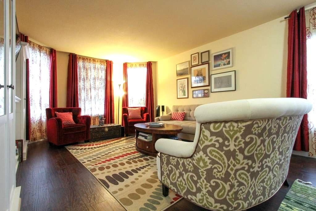 Romantic suite and large tub - Santa Rosa - House