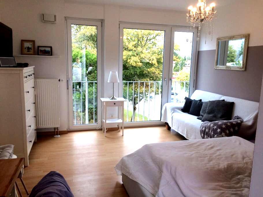 Sonniges, ruhiges Appartement mit Dachterrasse - 雷根斯堡 - 公寓