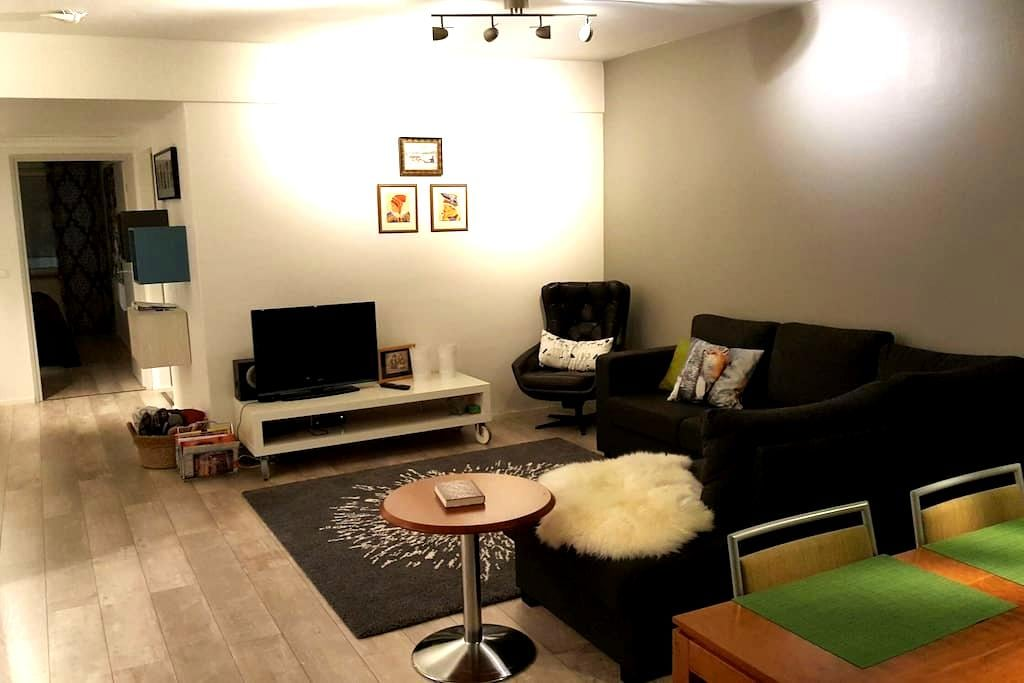 Big 83,5m², freshly renovated and modern apartment - Rovaniemi - Pis