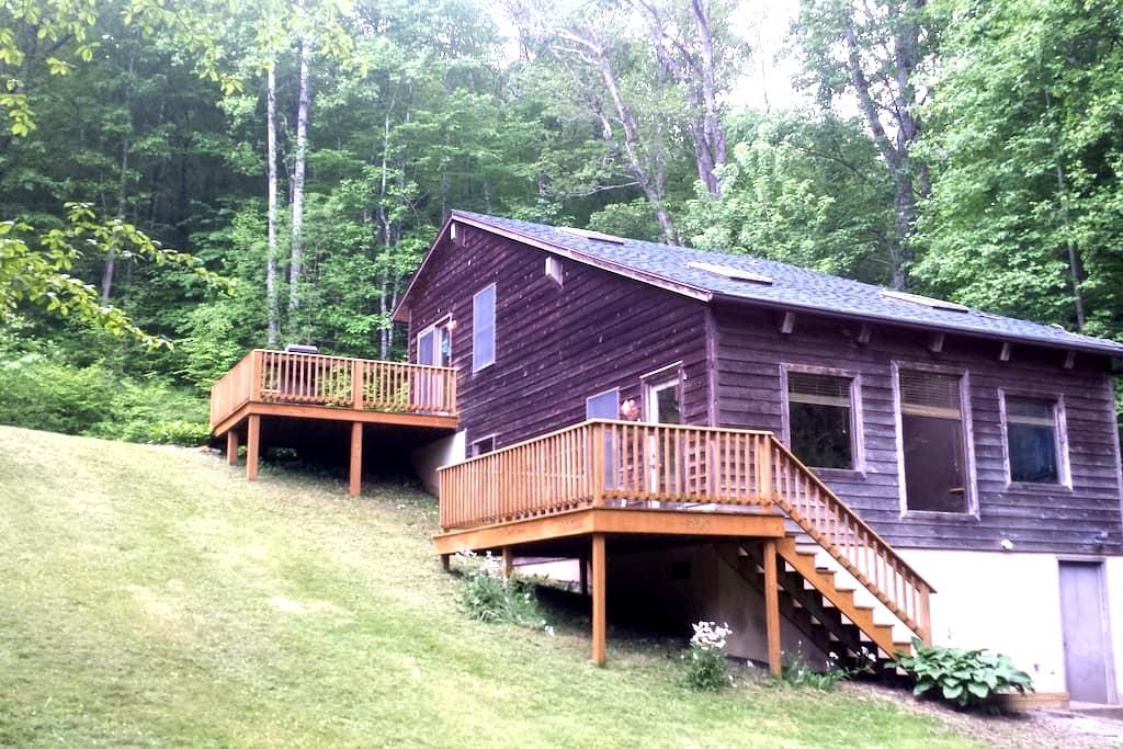 Cozy 2 Bdrm Mountain Cabin-Walk to Rivers & Trails - Hinton