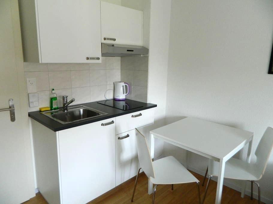 Delsbergerallee - Studio #33 - Basel - Betjent leilighet