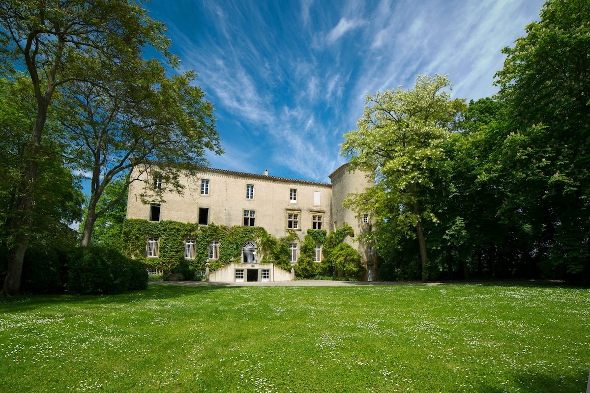 Château La Commanderie_ Façade sud