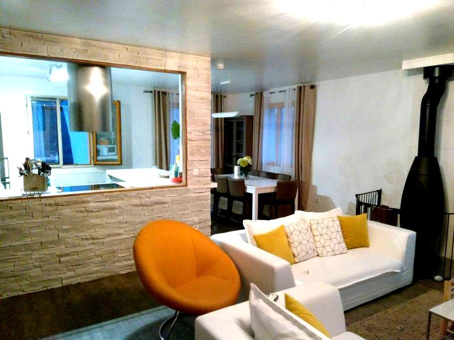 Deux chambres dans le calme total. - Saint-Martin-du-Tertre Bourgogne Franche-Comté, FR - House