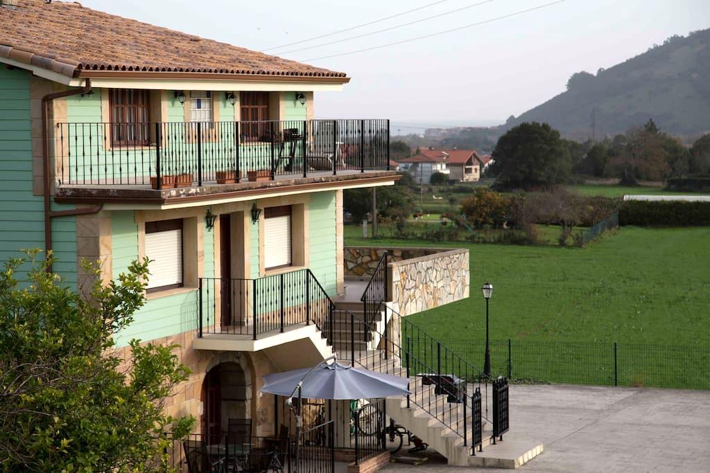 Villatras, Casas rurales el pontón - Castillo siete Villas