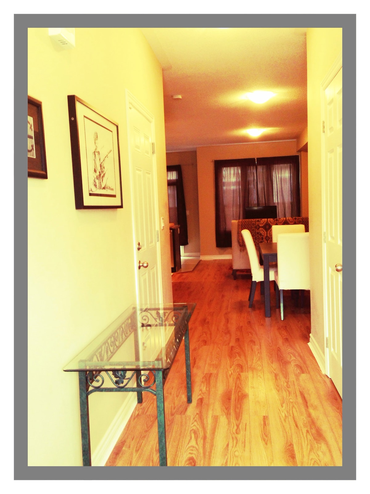 Entry way and Foyer