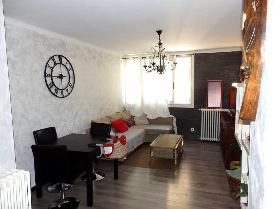 Chambre dans un joli appartement lumineux au calme - Tuluza - Apartament