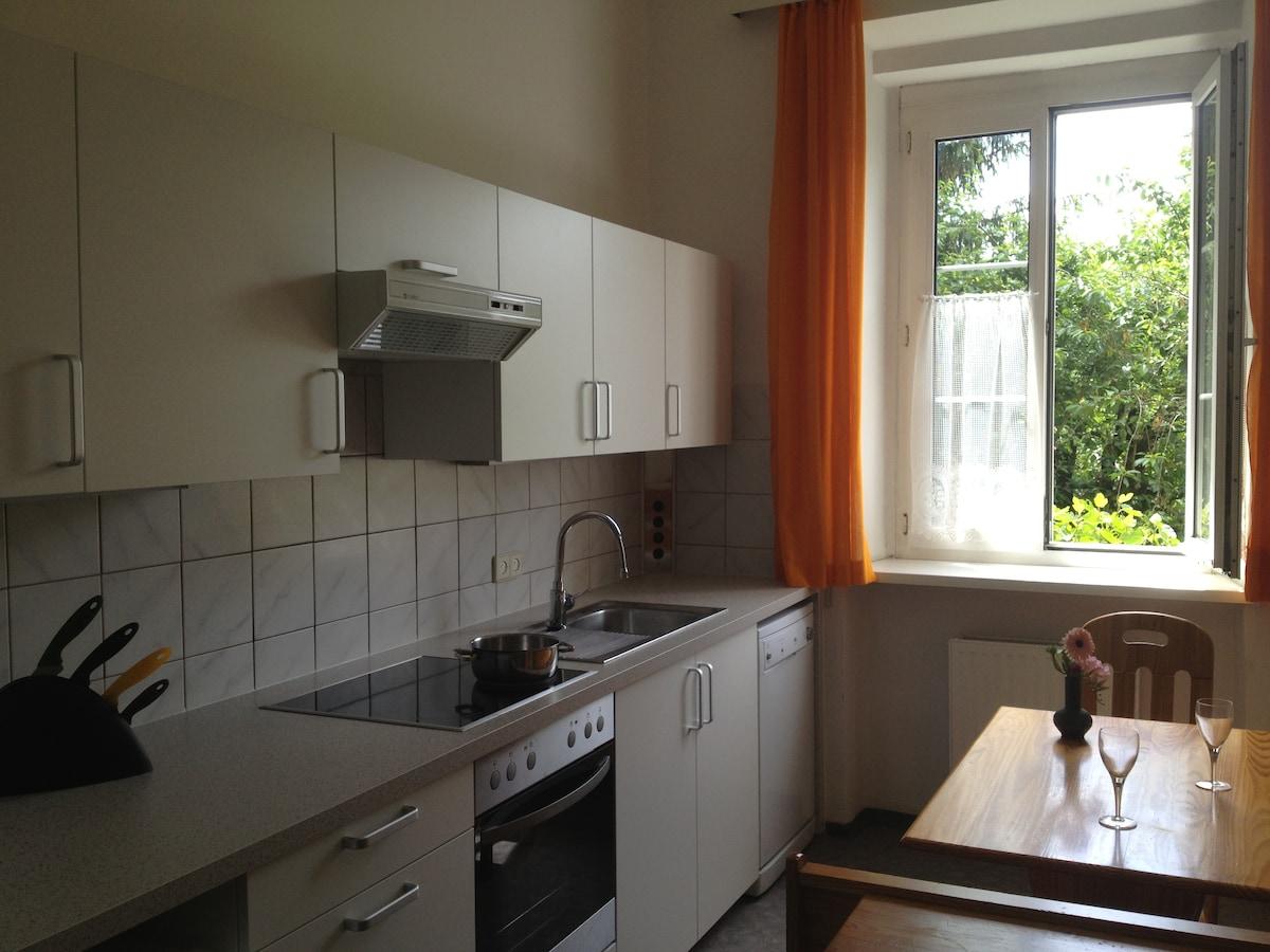 Kitchen (view to the garden)