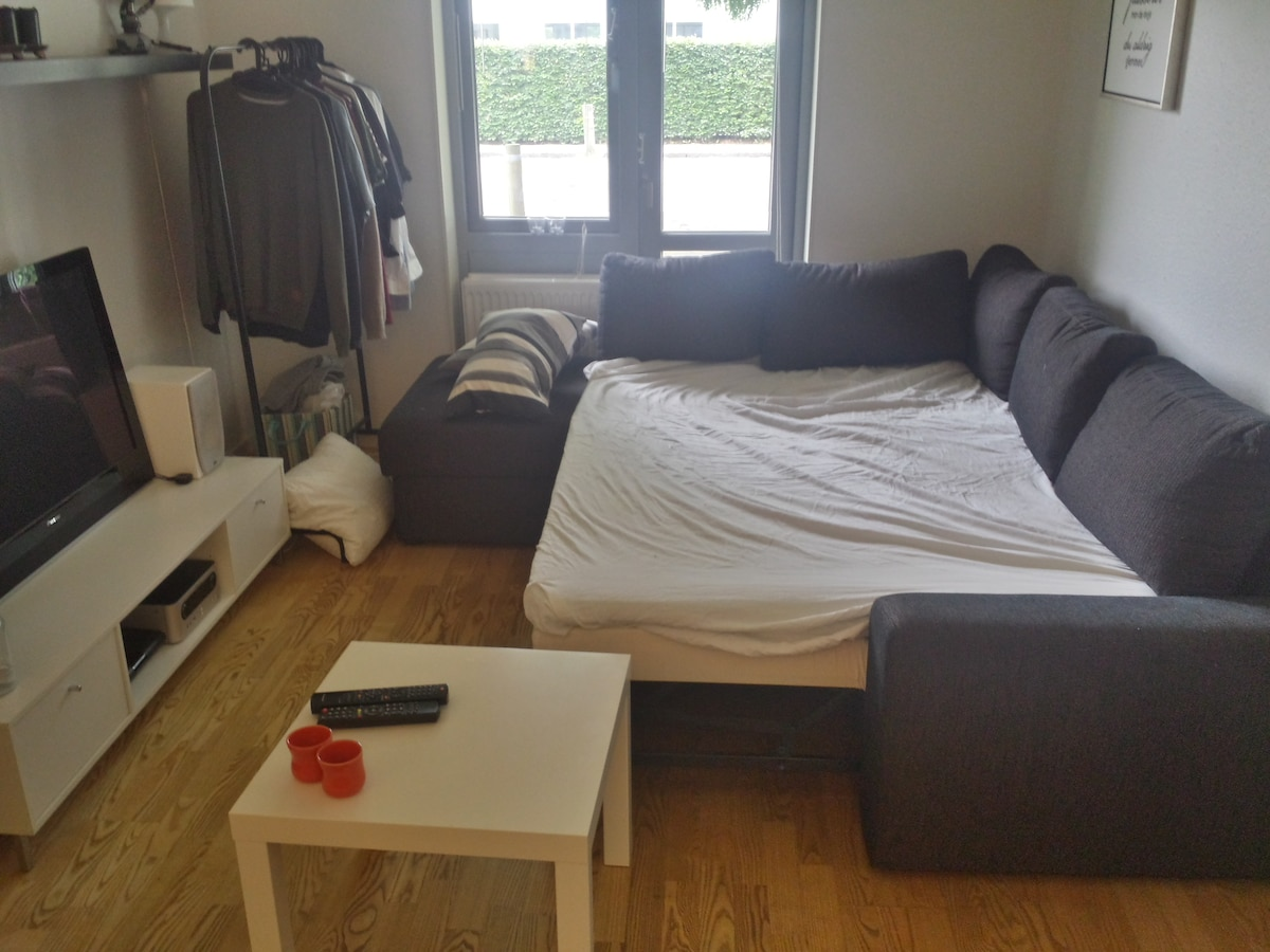 Studio apartment 10 mins from CPH C