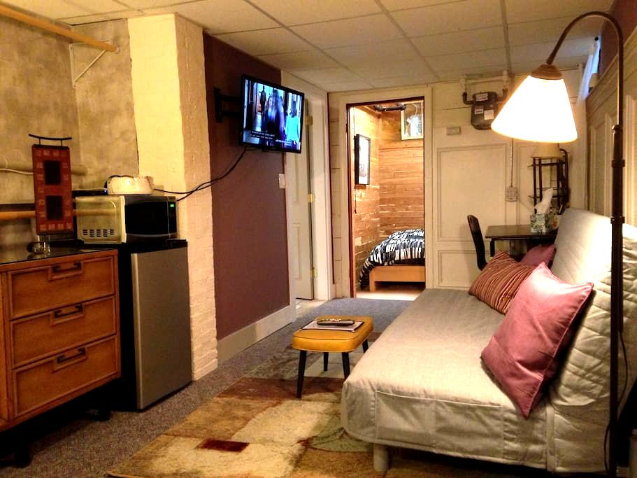 Private Lower Level Loft (basement) - บอสตัน - ที่พักพร้อมอาหารเช้า