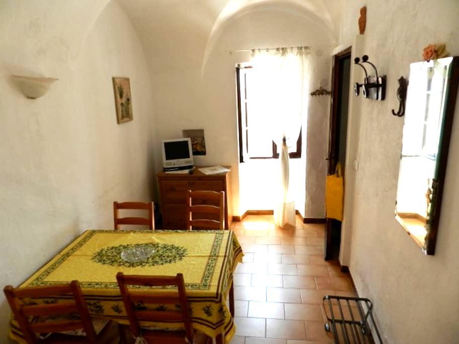 Ancient house in Ligurian village - Cipressa - Flat