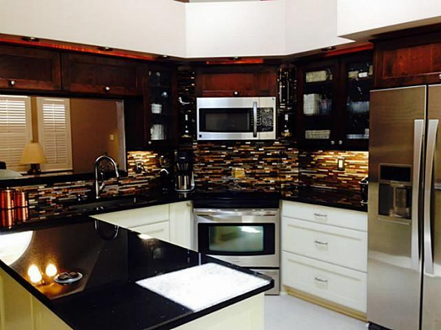 Completely updated kitchen with toaster, keurig, etc.