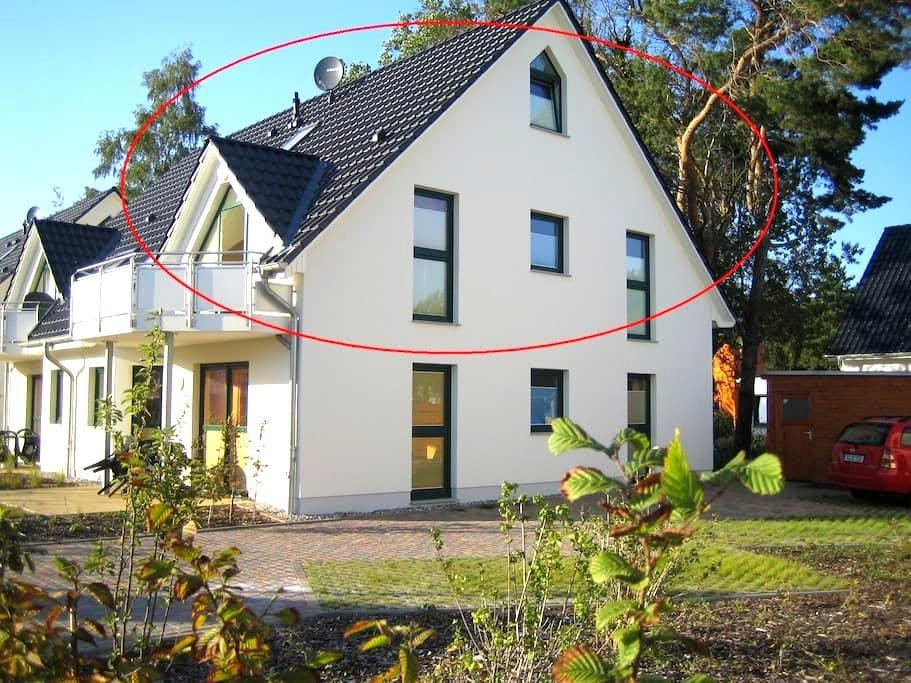 Sonnige Ferienwohnung auf Usedom - Zinnowitz - Apartment