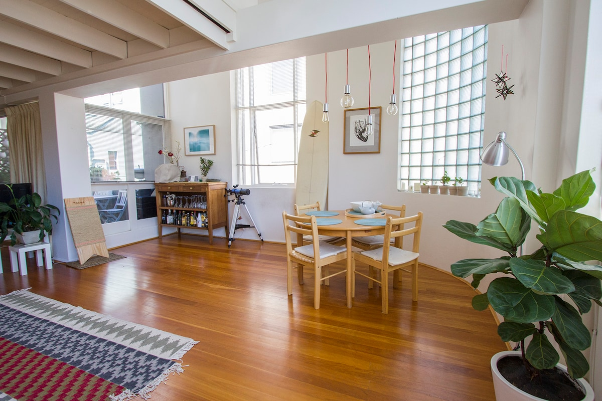 2 level, 2br converted warehouse