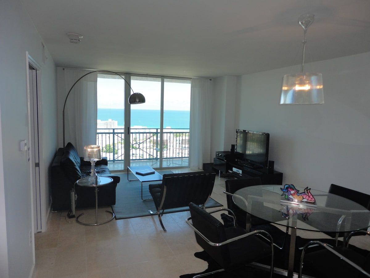 South Beach Ocean View Designer 1br