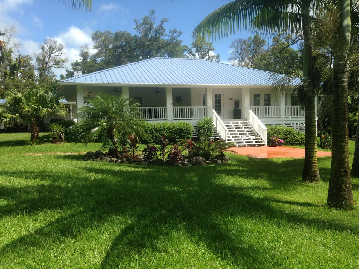 SPACIOUS HOME & GARDENS ON ONE ACRE