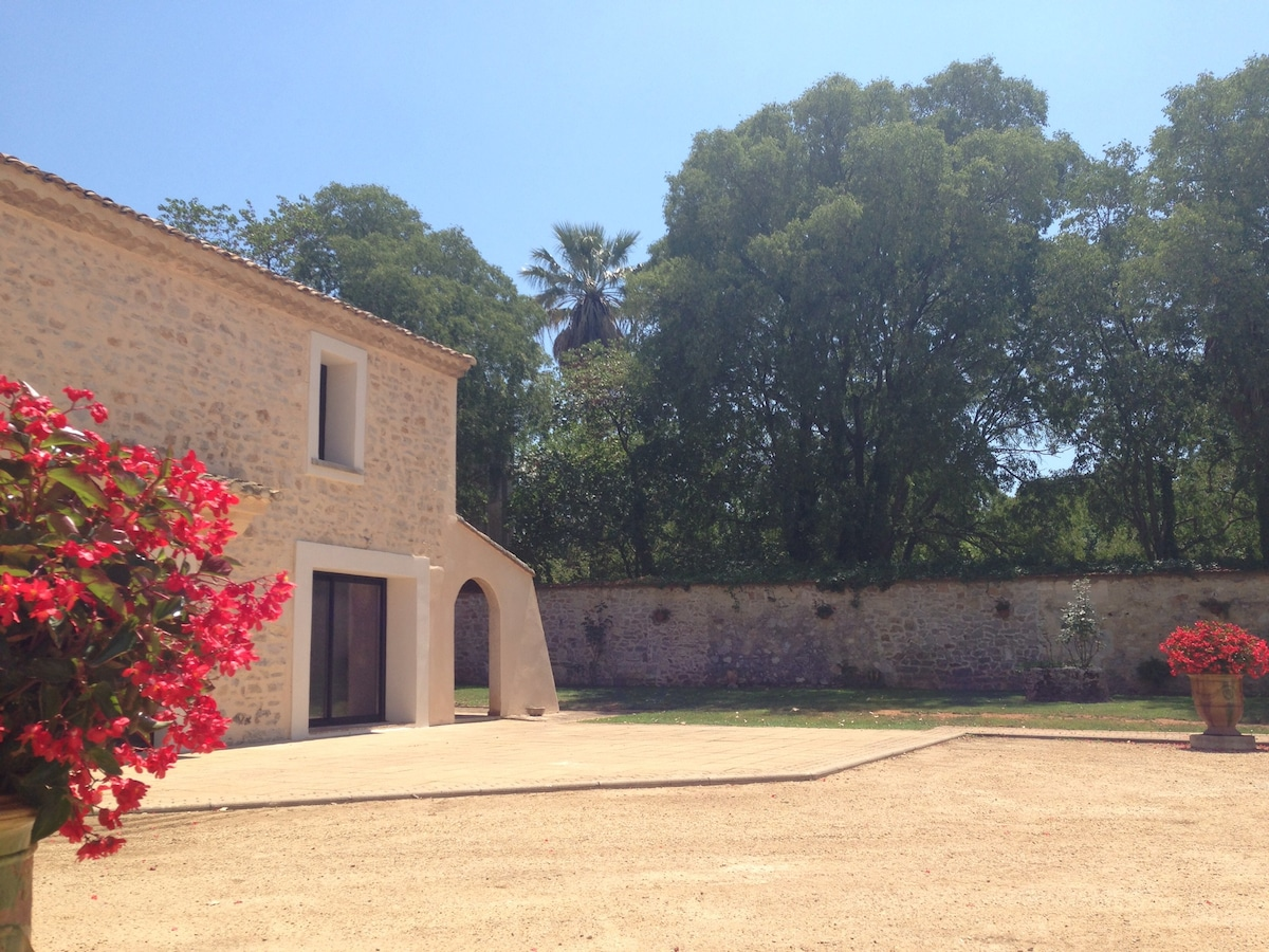 Maison de type provençal