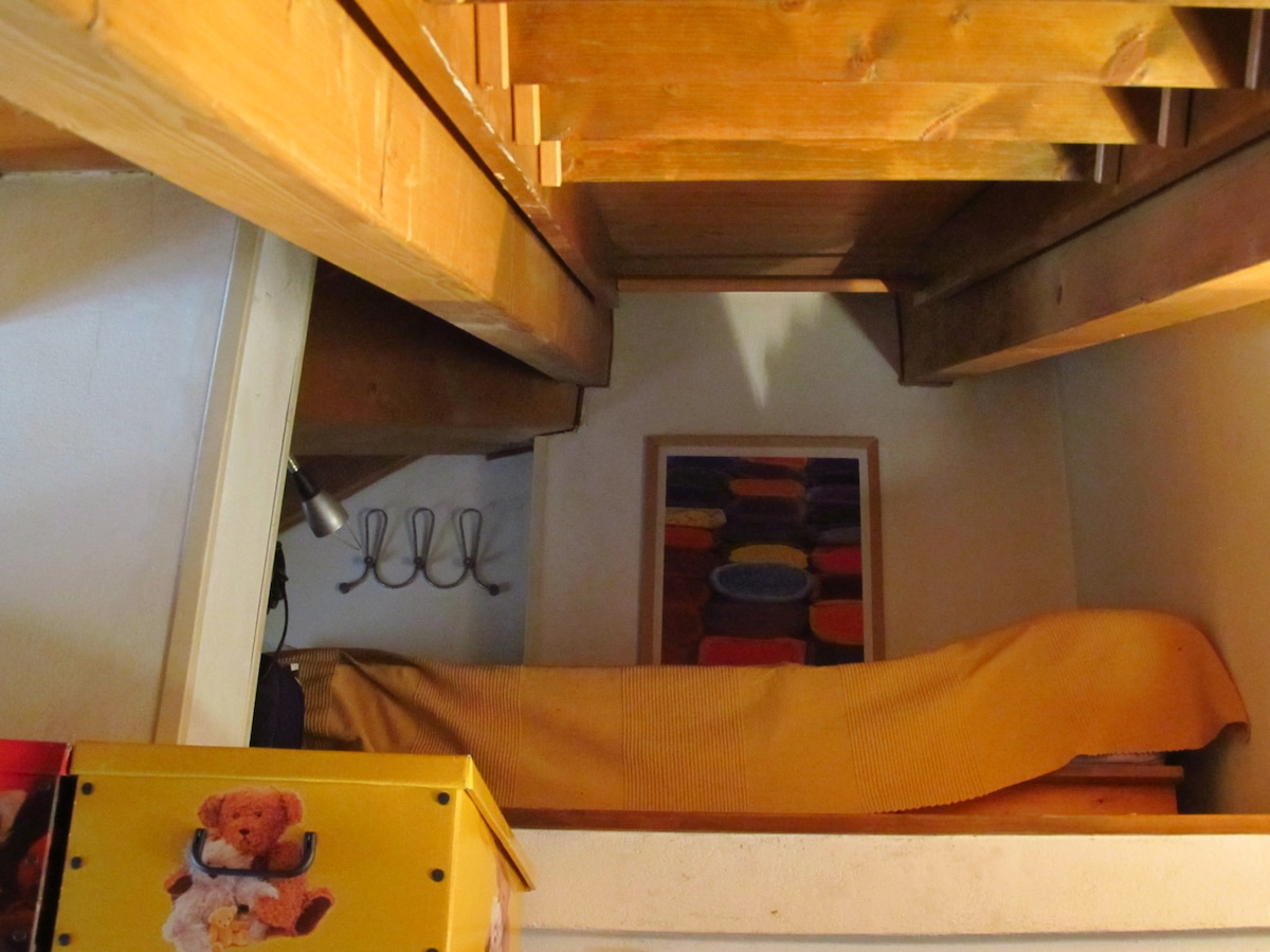 3° posto letto nel soppalco