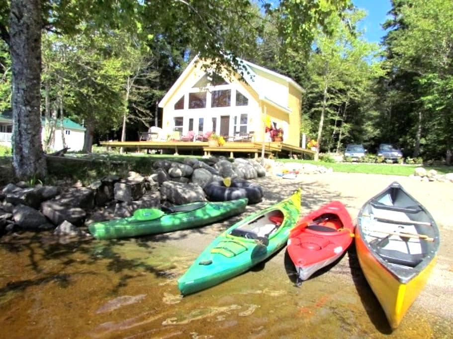 Lake Front Cottage with Private Beach - Saint Stephen