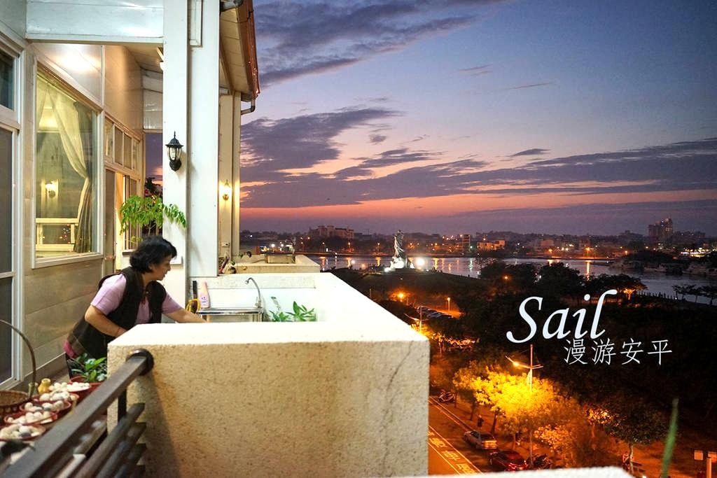 漫游安平 無敵環繞海景度假小屋~與最愛的人共享 - Anping District - Villa
