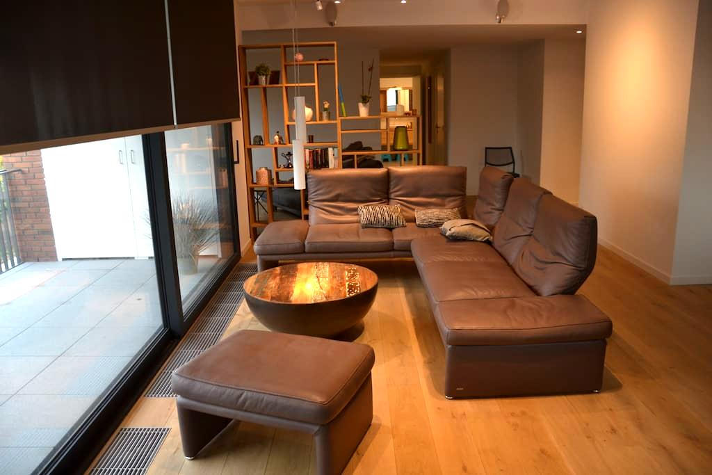 Spacious apartment with terrace in Antwerp - Antuérpia - Apartamento