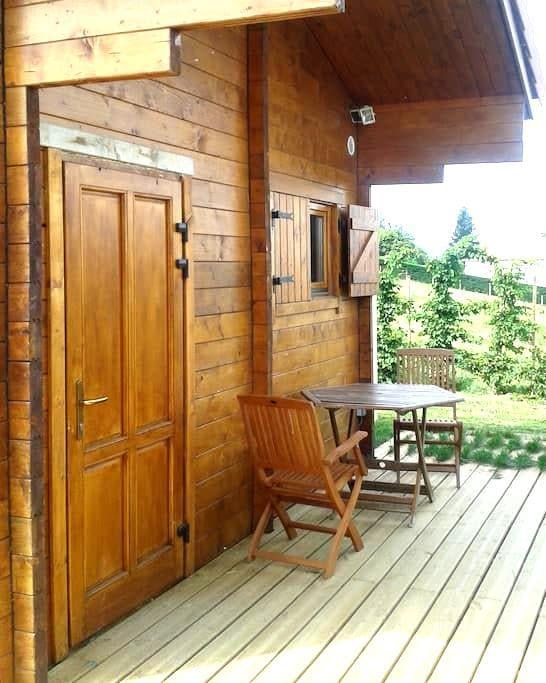Gite Chalet loisirs Parc PILAT - Farnay - Bungalo