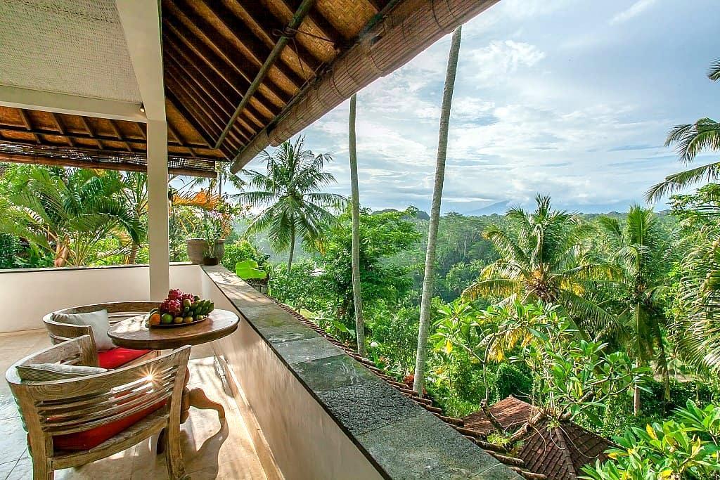Sayan Terrace Honeymoon Suite with Amazing View - Ubud