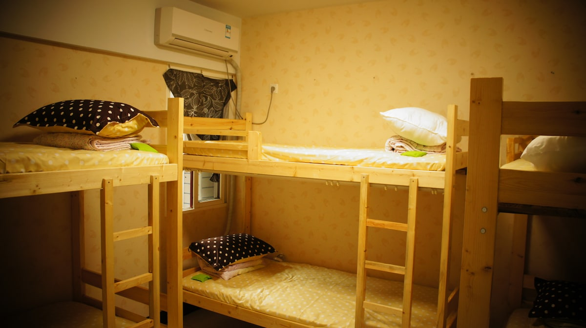 1 Bed of 6 Bed Female Dorm Room