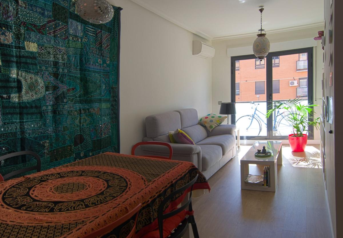 Habitación bonita y luminosa
