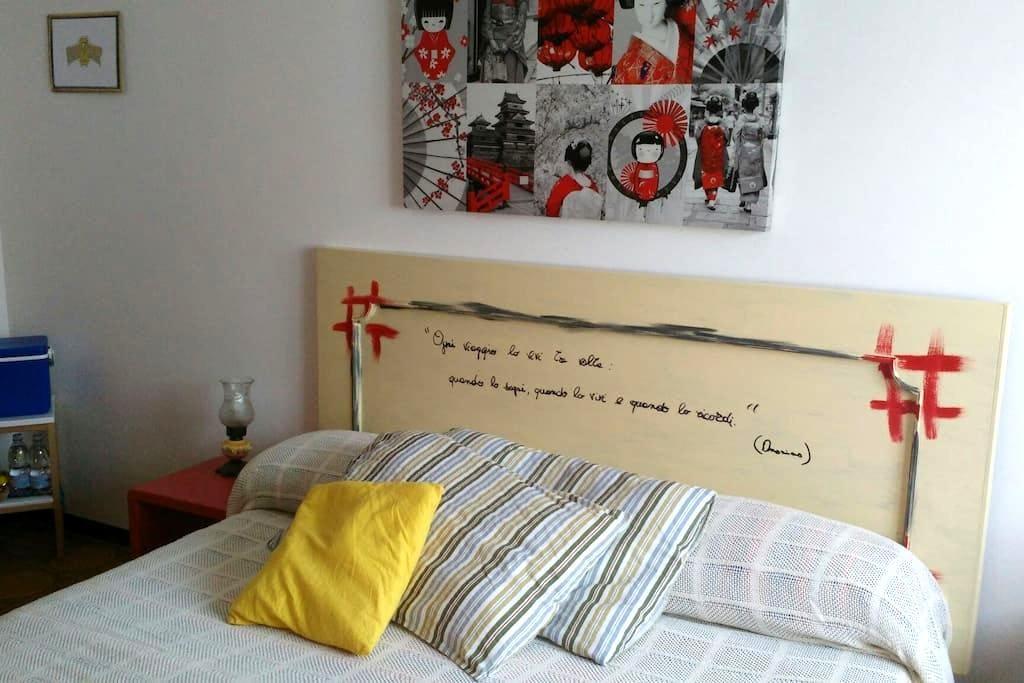 Stanza matrimoniale in appartamento privato - San Salvo - Appartement