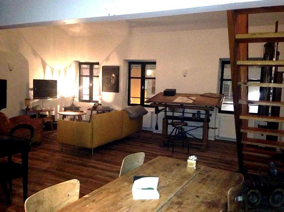 Appartement d'artistes centre ville de Montbrison - Montbrison