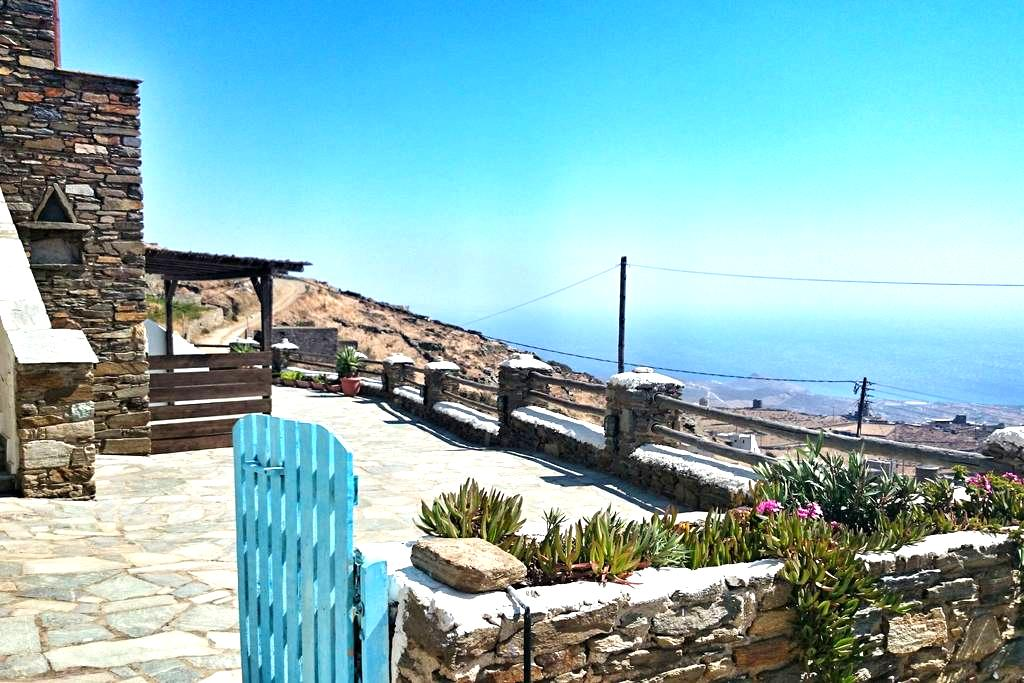 Best view in town- family house 2-5 - Tinos - House