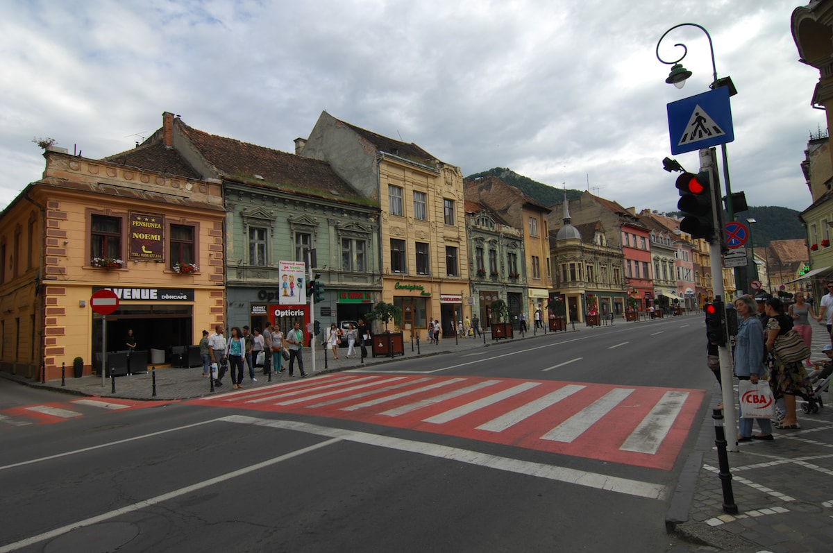 Double ensuite in heart of Brasov