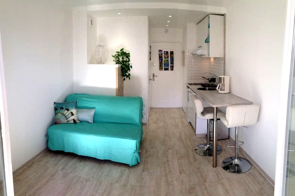 Nice apartment ideally located 50m from the beach. - フレジュス - アパート