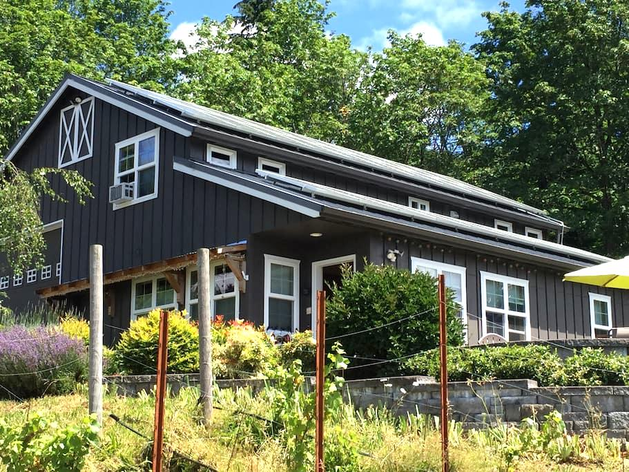 Cozy Private View Loft Near Gorge - Washougal - Rumah