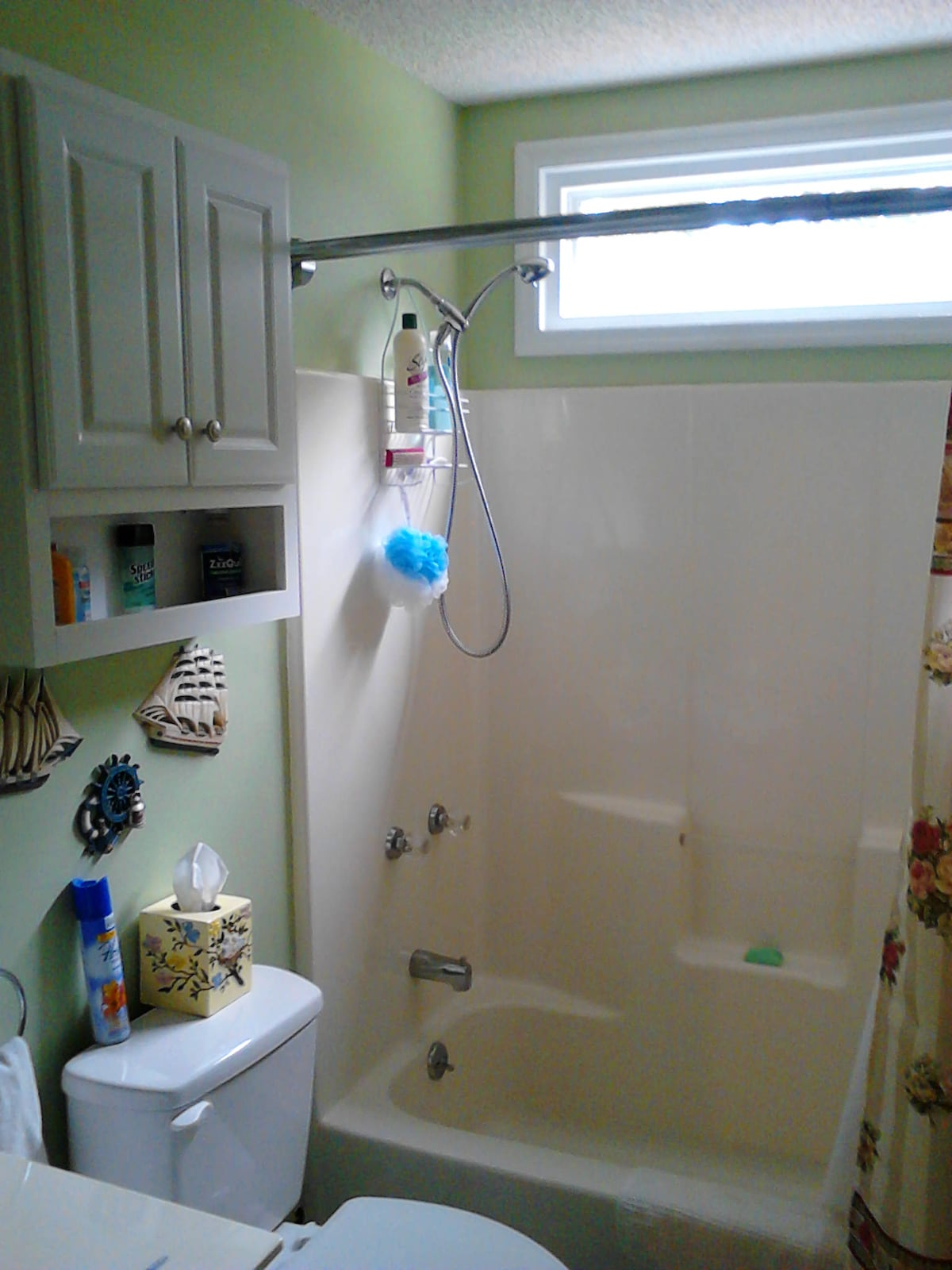 Your own private bathroom next to guest room.