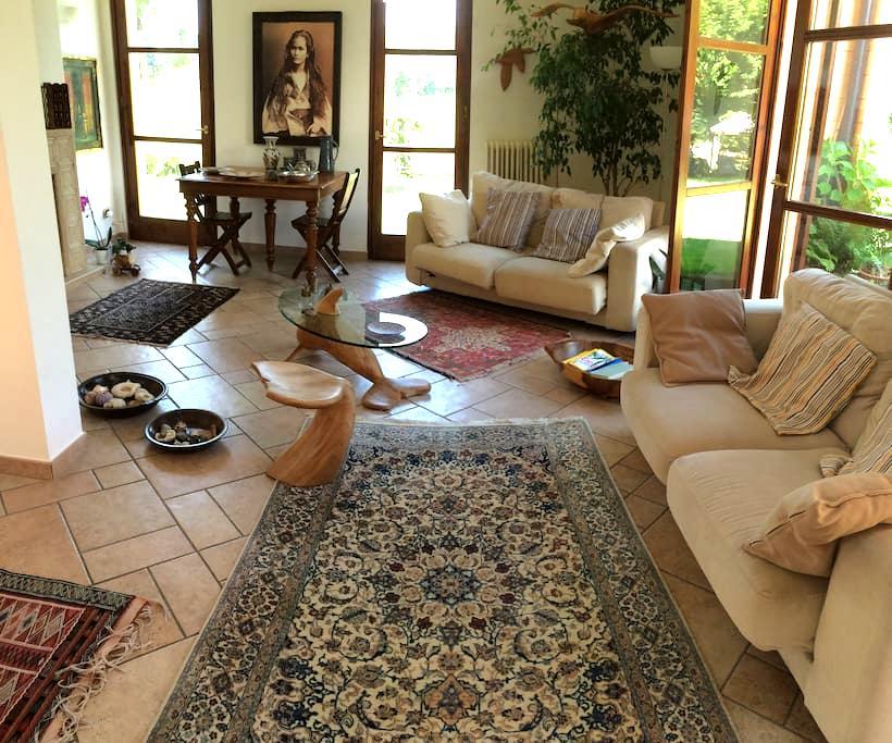 La Selva, casa immersa nel verde della Brianza - Imbersago - Villa