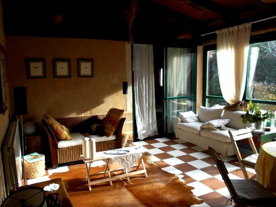 Casa invitados con jardin y piscina - Segovia - Rumah