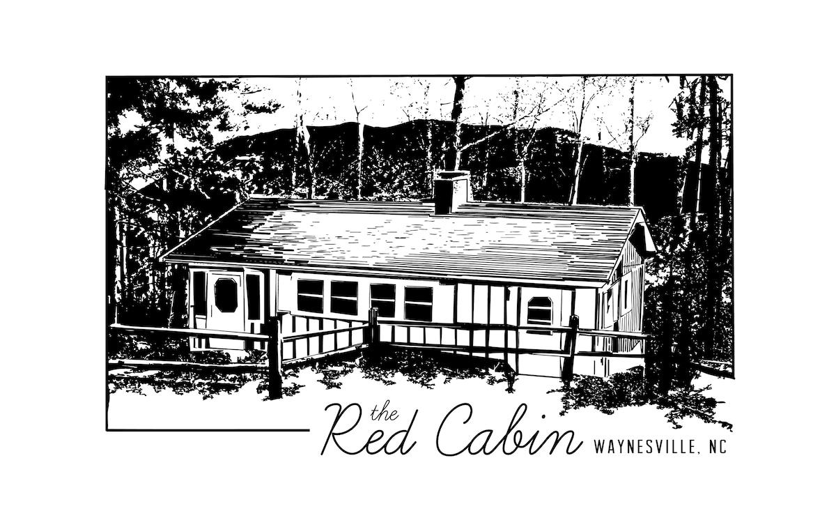 The Red Cabin Waynesville, NC