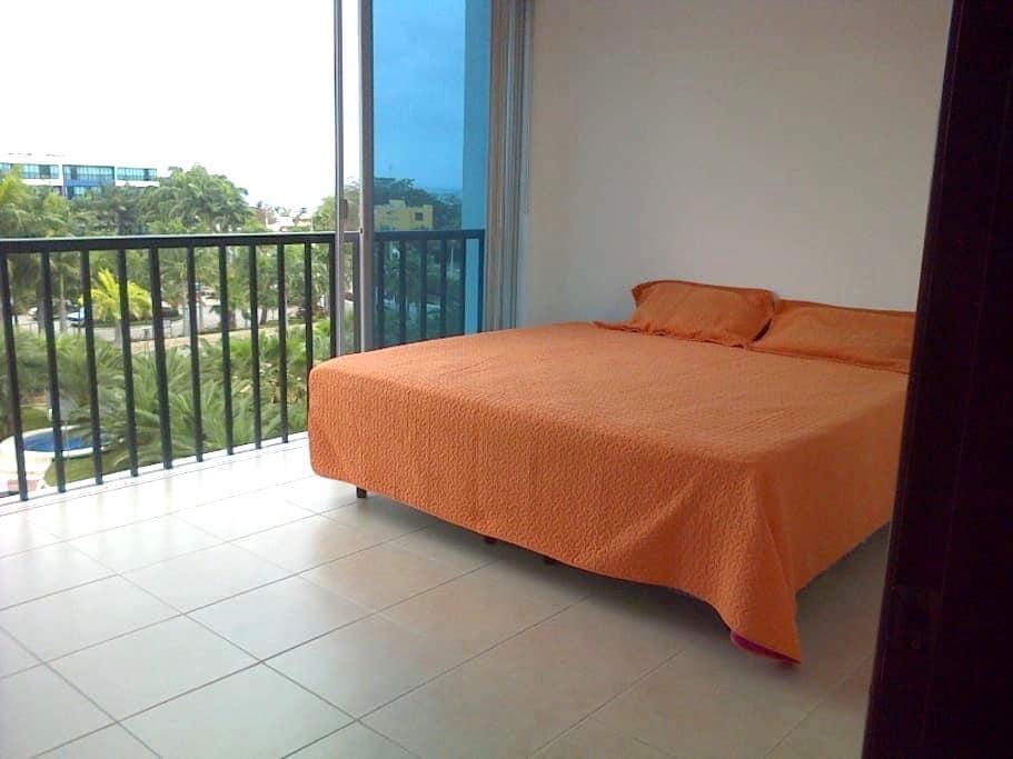 SUITE AMOBLADA CON CAMA DE 3 PLAZAS - Punta Blanca - Apartment